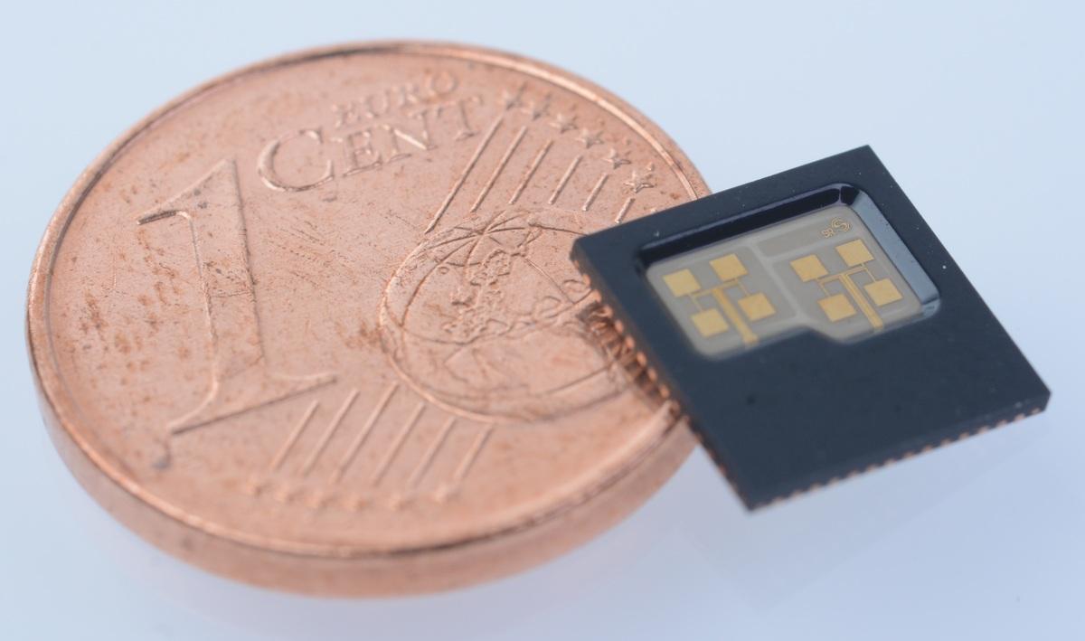 Single Chip Radar